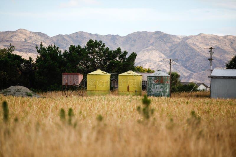 Bestimmungsort Neuseeland lizenzfreies stockbild