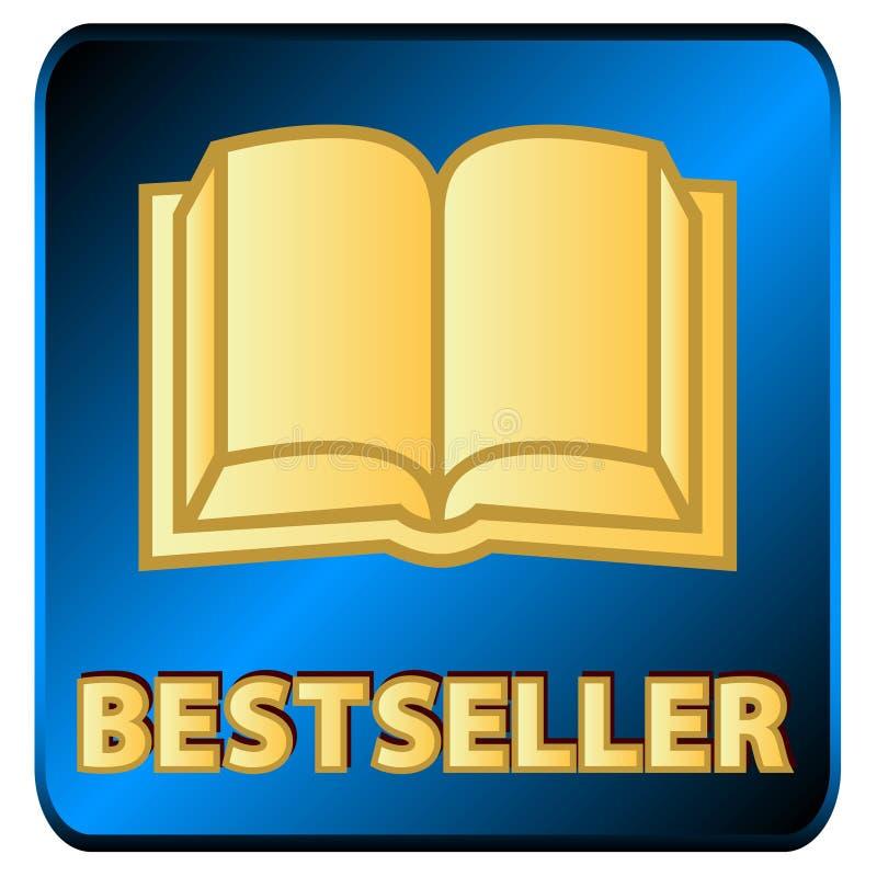 Bestseller logo vector illustration