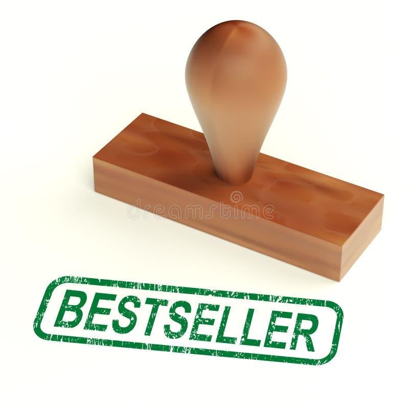 Bestseller-Stempel stock abbildung