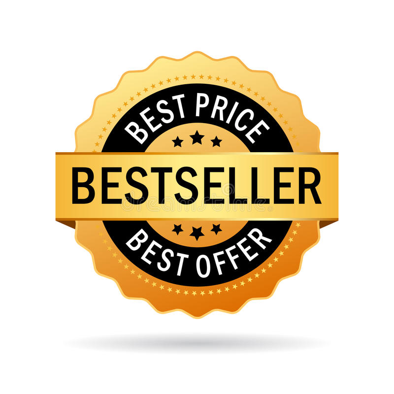 Bestsellerikone vektor abbildung