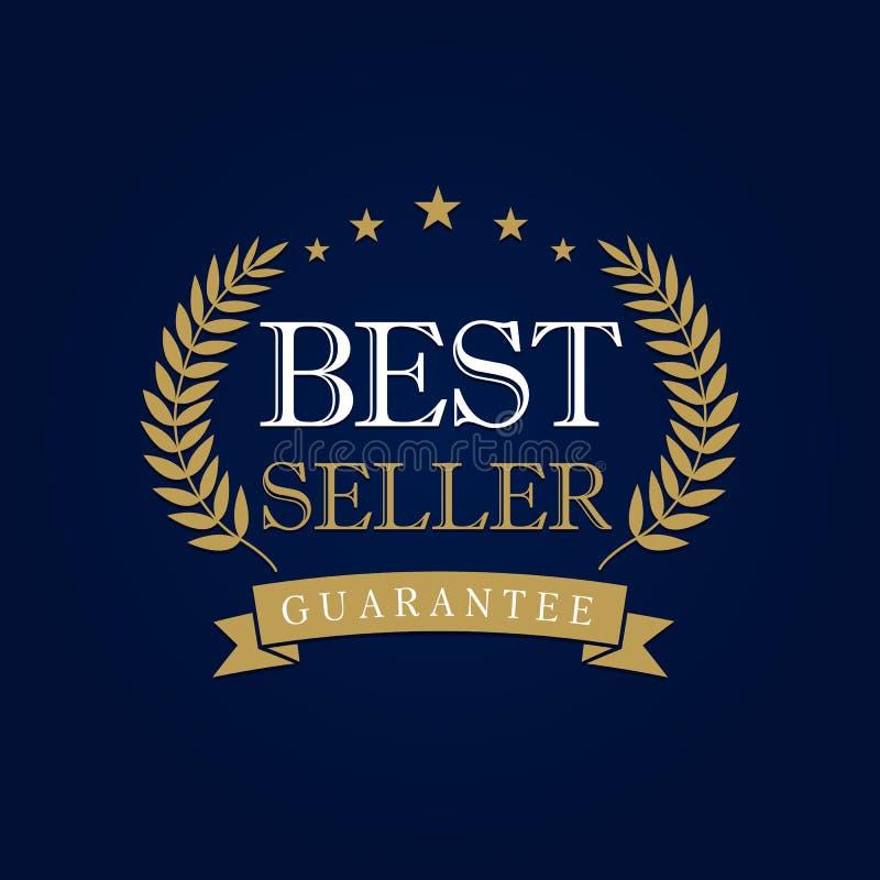 Bestselleru logo royalty ilustracja