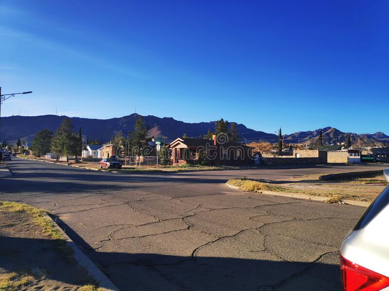 Besuch der Stadt El Paso, Texas lizenzfreies stockfoto