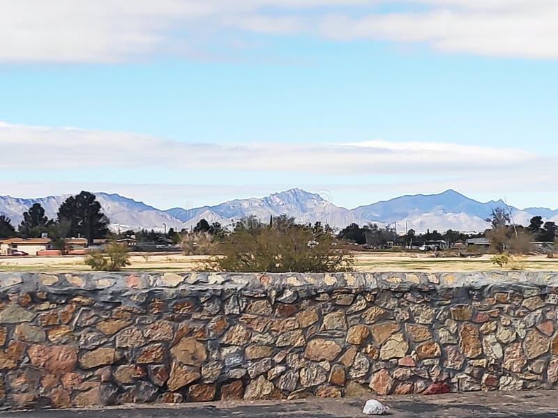 Besuch der Stadt El Paso, Texas lizenzfreie stockfotografie