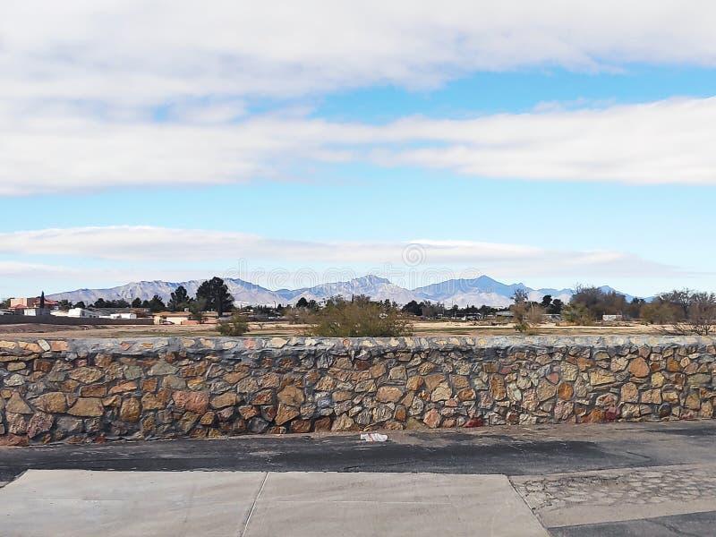 Besuch der Stadt El Paso, Texas lizenzfreie stockfotos