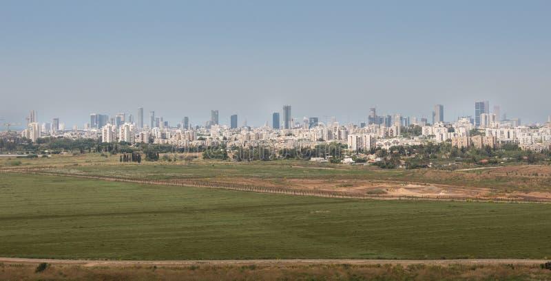 Besuch zu Hiriya (Ariel Sharon-Park) stockbilder
