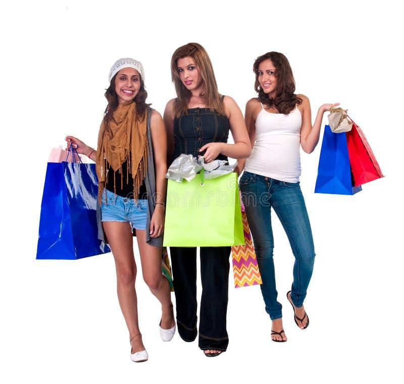 Besuch zum Mall stockfotos