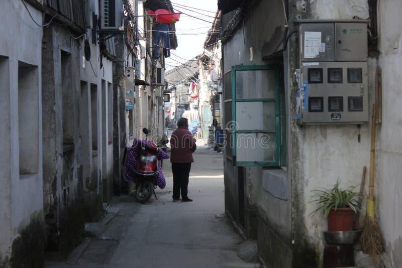 Besuchs-alte Stadt Xincheng an einem allgemeinen sonnigen Tag allein stockfotografie