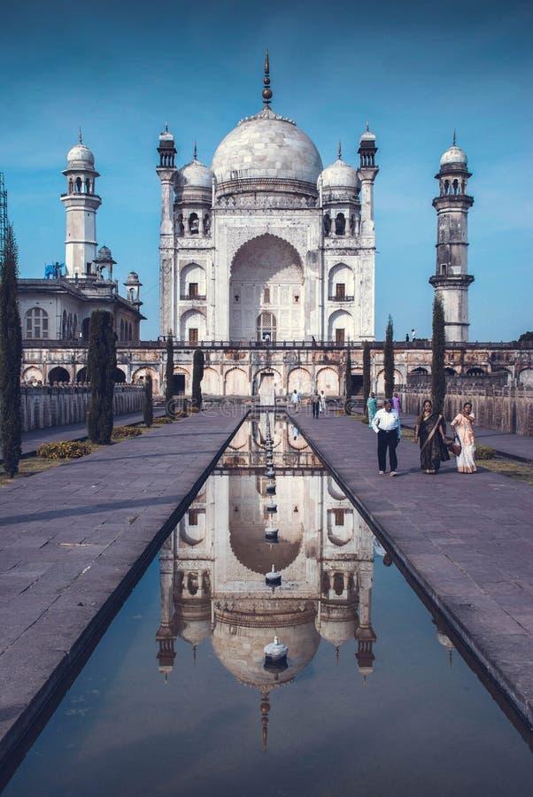 Besuchsmonumente in Indien lizenzfreie stockfotos