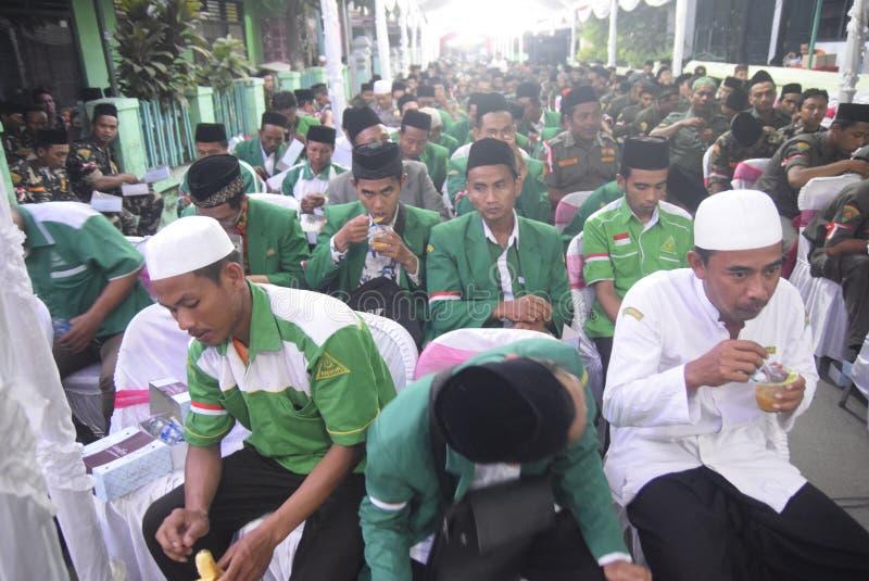 Besuchte Polizeichef Tito Karnavian das Pondok Pesantren Raudlatut Thalibin Rembang lizenzfreie stockfotografie