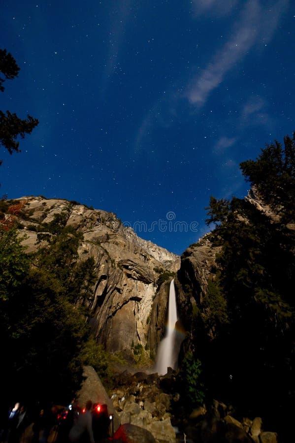 Betäubung Moonbow stockfoto