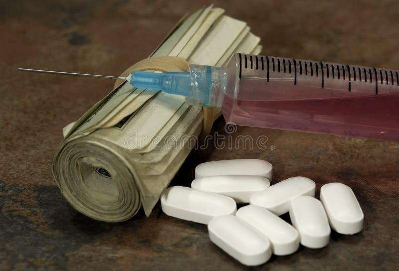 Betäubungsmittel stockfoto