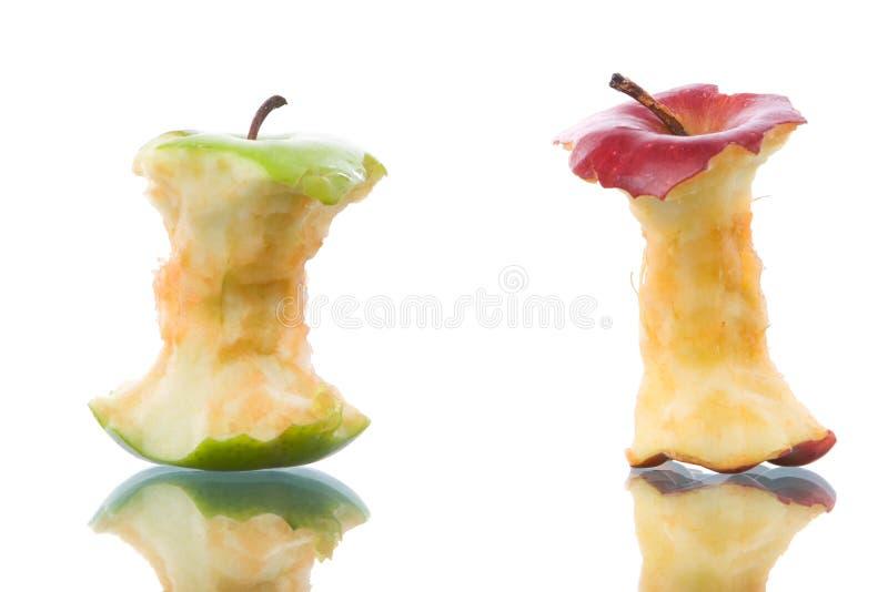 bet äpplen royaltyfri foto