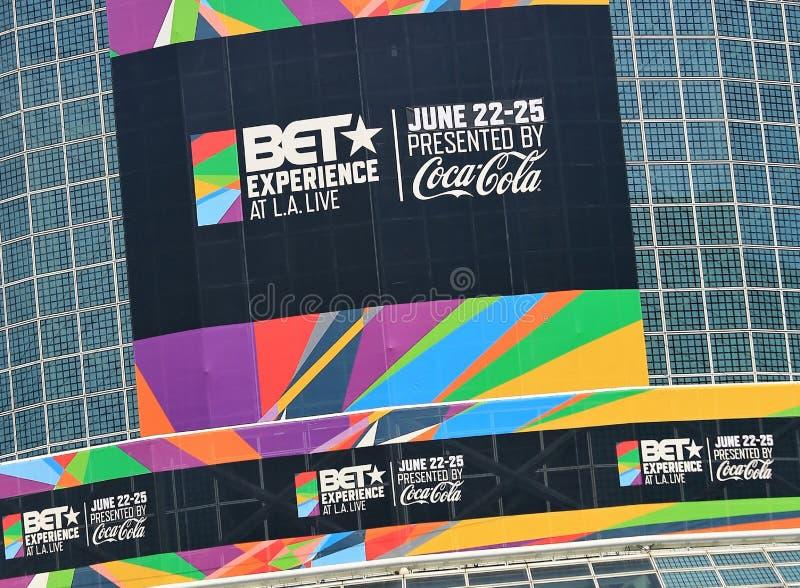 BET Experience 2017 lizenzfreie stockfotos