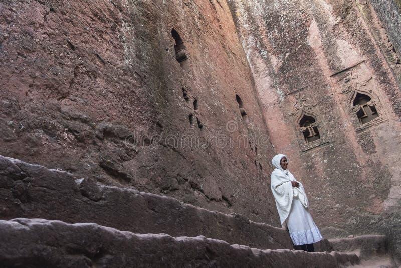 Bet Mikael dans Lalibela, Ethiopie photographie stock libre de droits