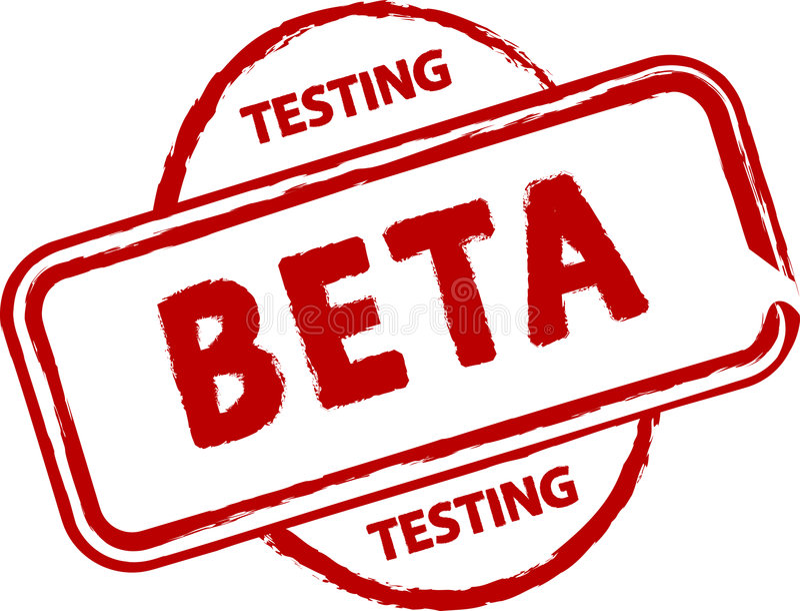 Beta stock illustration