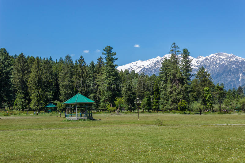 Betaab valley, Jammu and Kashmir tourism stock photo