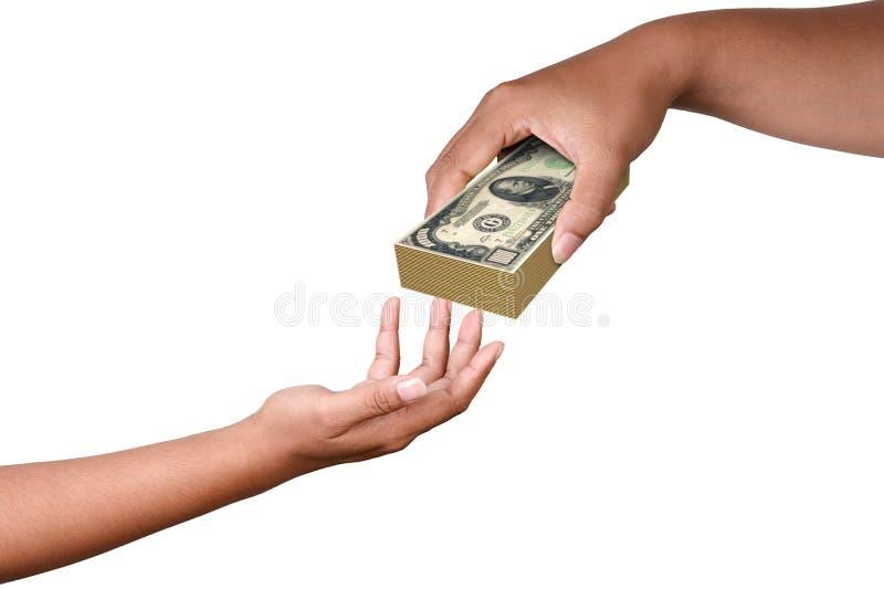 Betaal in Dollar royalty-vrije illustratie
