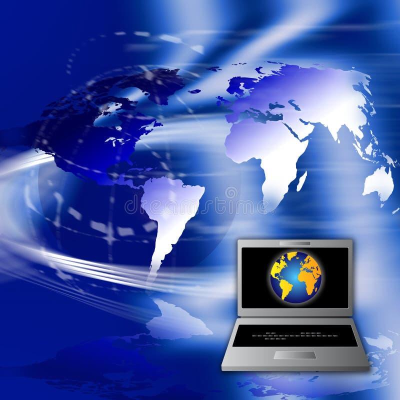 Betaal online royalty-vrije illustratie