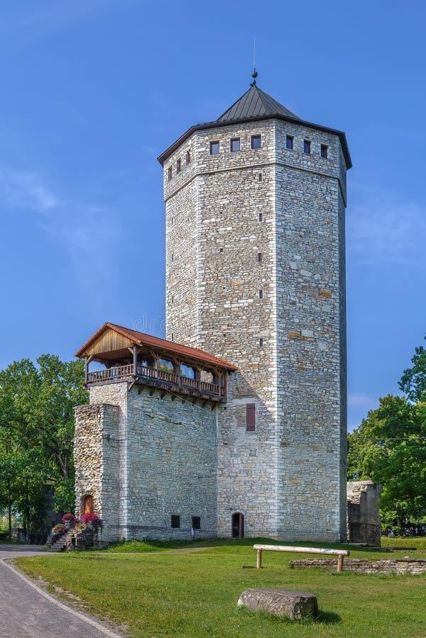 Betaald kasteel, Estland stock afbeeldingen