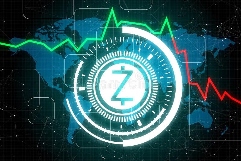 Betalning- och z-kassabegrepp stock illustrationer