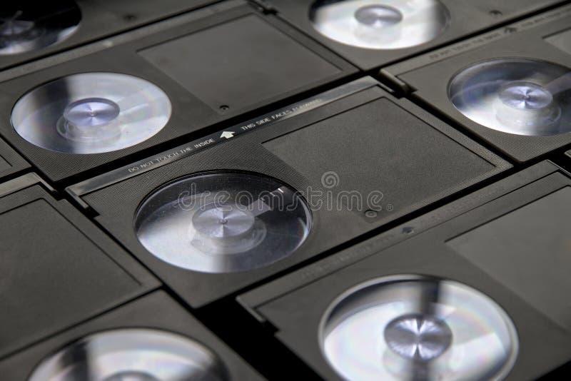 Betamax-Videorekorder-Kasetten lizenzfreie stockfotos