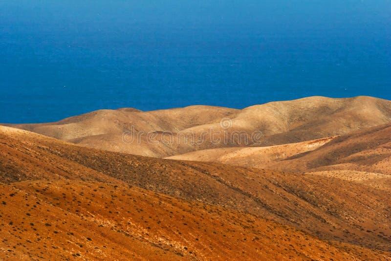 Betancuria ηφαιστειακό Fuerteventura καναρίνι νησιών στοκ φωτογραφίες με δικαίωμα ελεύθερης χρήσης