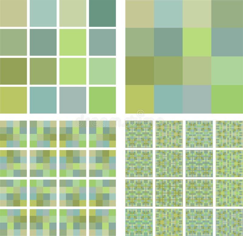 Betegel een kleur van de structuurpistache royalty-vrije illustratie