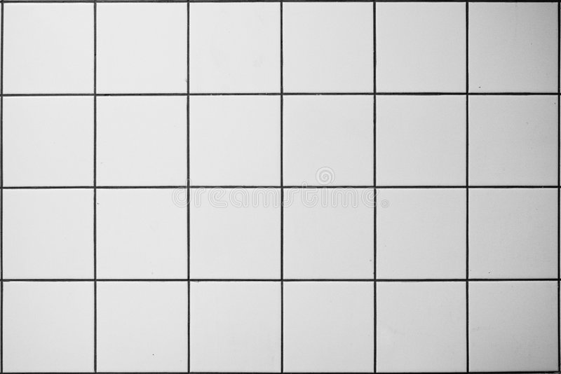 Betegelde muur stock foto's