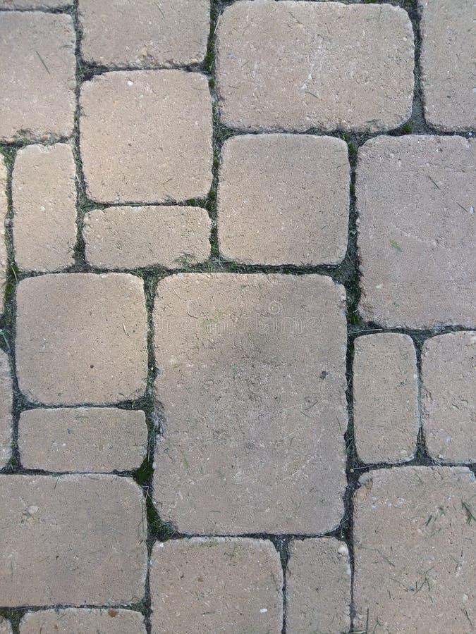 Betegelde stenentextuur royalty-vrije stock afbeelding