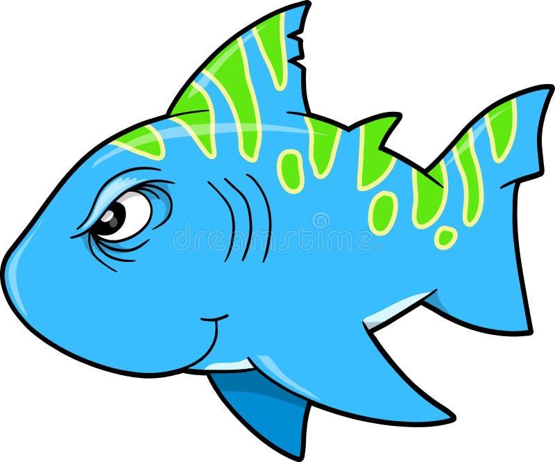 Beteken de Taaie Vector van de Haai vector illustratie