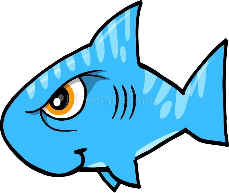 Beteken de VectorIllustratie van de Haai vector illustratie