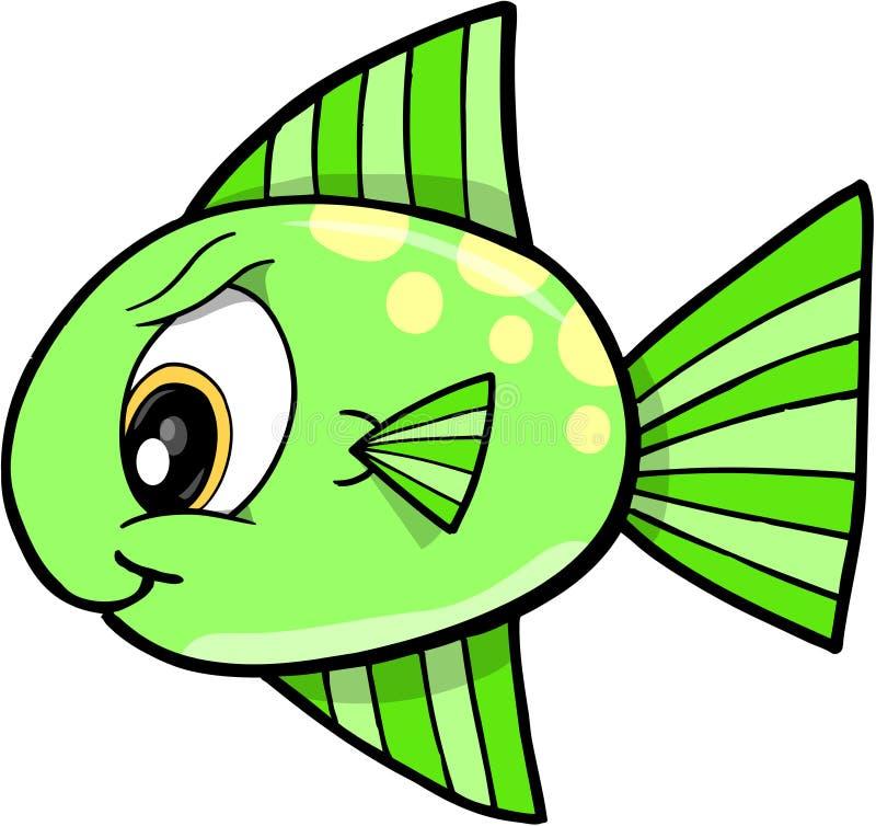 Beteken de VectorIllustratie van vissen stock illustratie