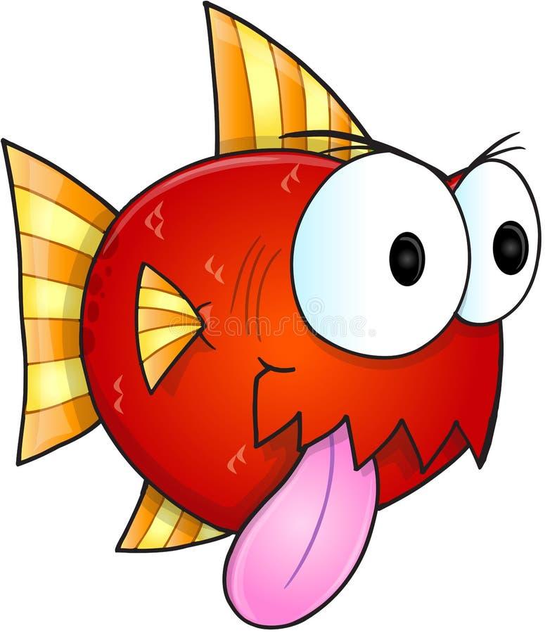 Beteken Vissenvector vector illustratie