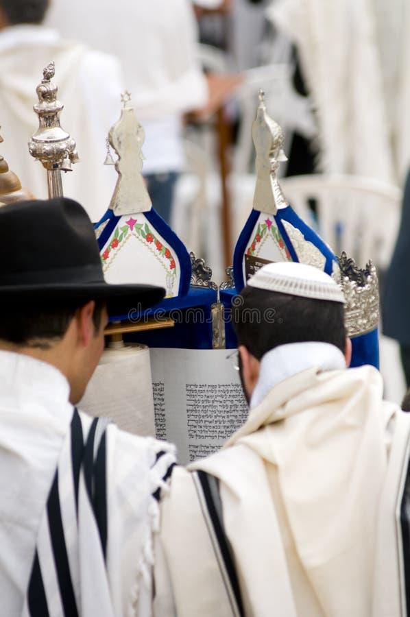 Beten jüdisch stockfotos