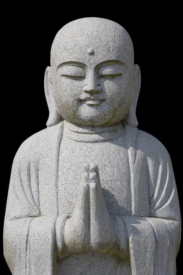 Betender Buddha stockfoto