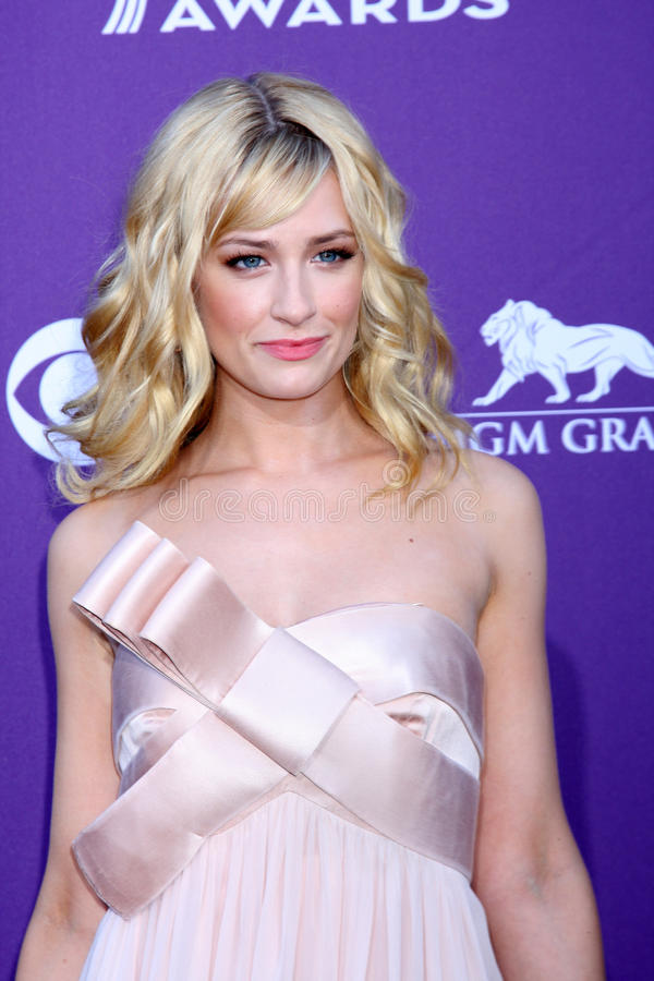 Beth Behrs Editorial Stock Image