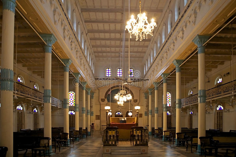 Beth El Synagogue, Kolkata, la India foto de archivo