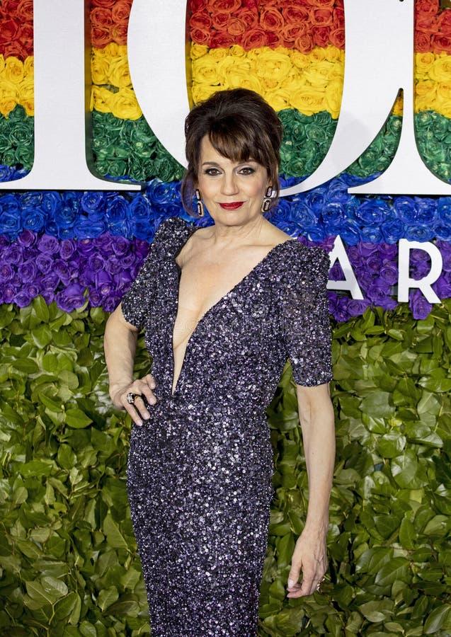 Beth Leavel på Tony Awards 2019 arkivbilder