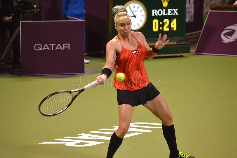 Bethanie Mattek-Sands royalty free stock image