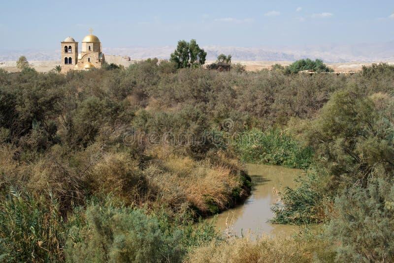 Bethany além do rio Jordão, Jordânia imagem de stock