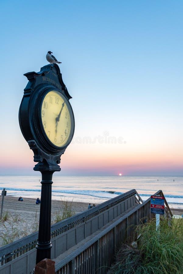 Bethany Beach Delaware Sunrise royalty free stock photos