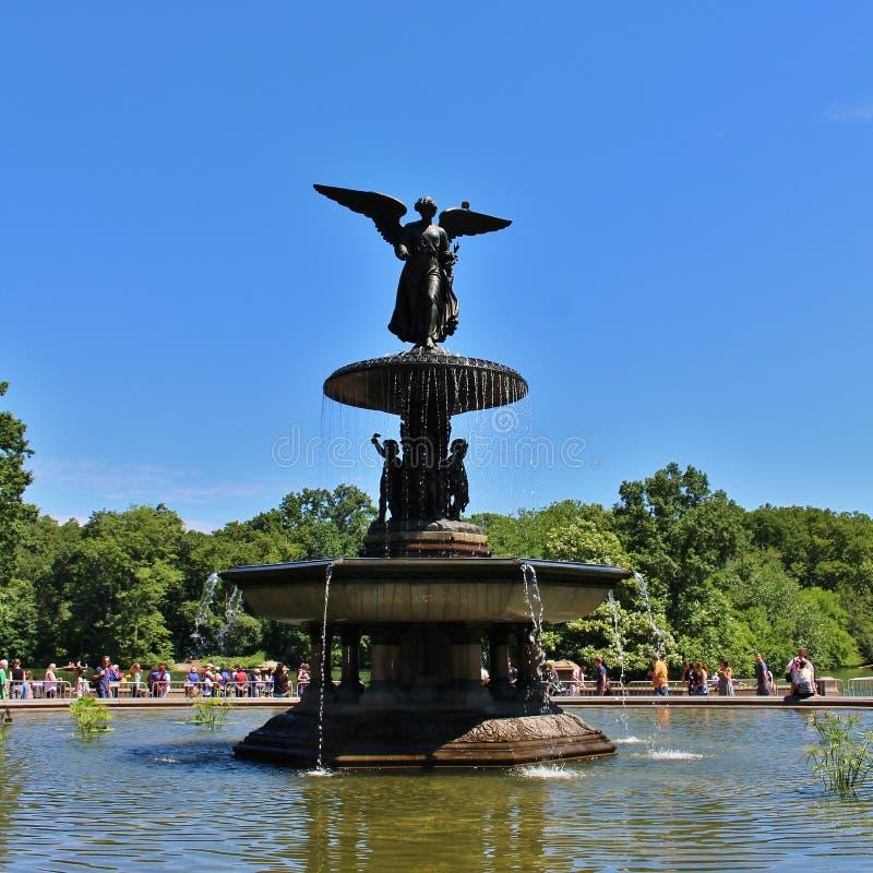 Download Bethesda Fountain, Central Park Redactionele Stock Foto - Afbeelding bestaande uit verenigd, amerika: 54081388
