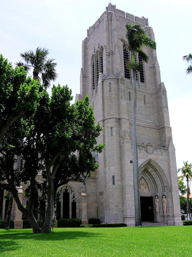 Bethesda by the Sea, Episcopal Church, Palm Beach, FL stock photo