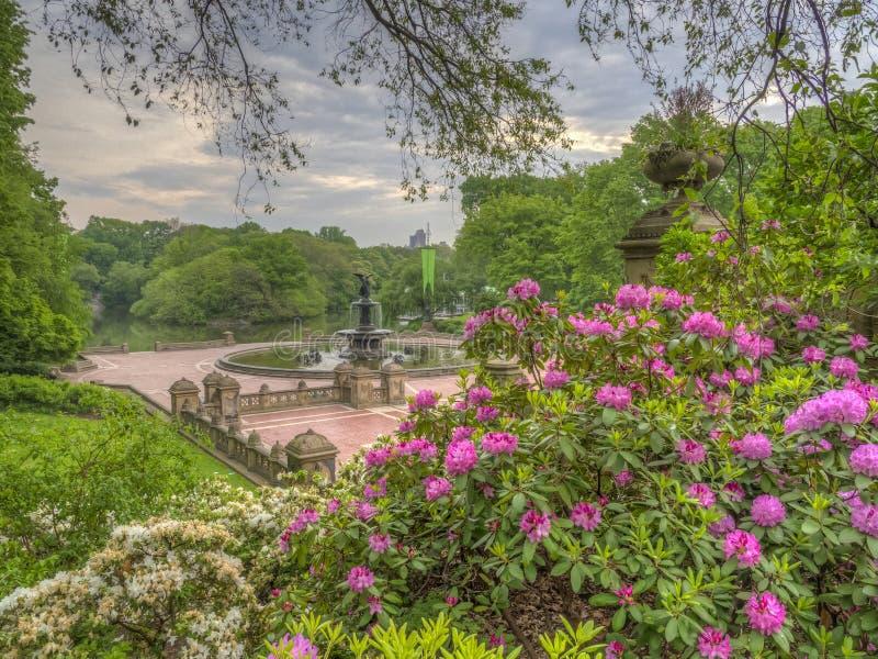 Bethesda Terrace Central Park imagem de stock royalty free