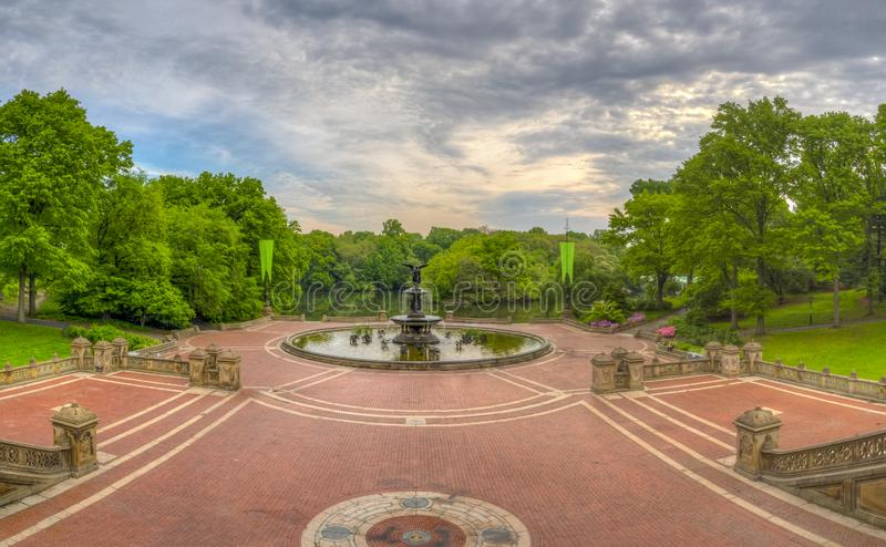 Bethesda Terrace Central Park foto de stock