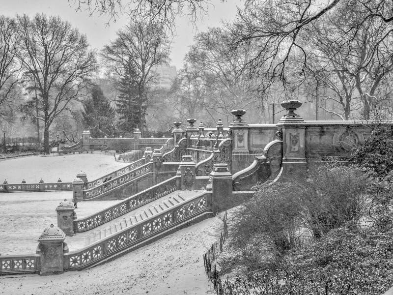 Bethesda Terrace Central Park immagine stock