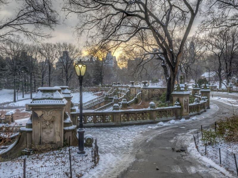 Bethesda Terrace Central Park fotografie stock