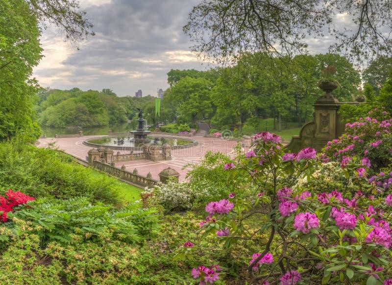 Bethesda Terrace Central Park fotografia stock libera da diritti