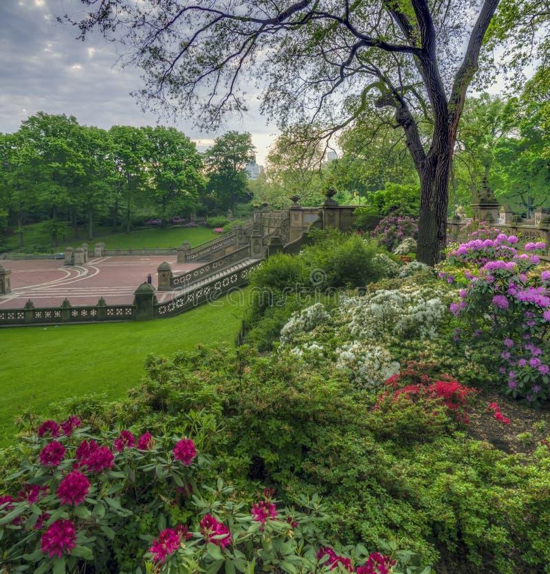 Bethesda Terrace Central Park immagini stock libere da diritti