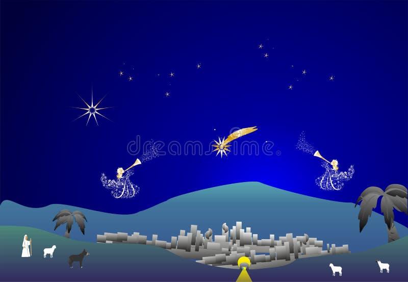 Bethlehem, lizenzfreie abbildung